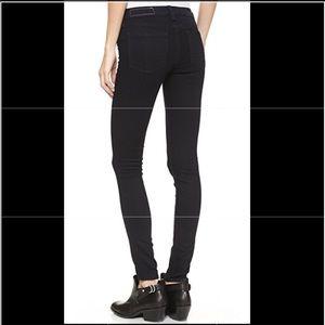 Rag & Bone Black Jeans - marked Size 29, fits 28